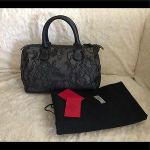 Pre-loved Valentino Lace Floral Handbag
